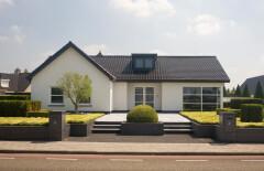 Kunststof kozijnen in villa in Peize, Roden, Haren en Groningen