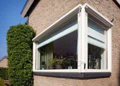 Kunststof kozijnen in hoekraam in Peize, Roden, Haren en Groningen